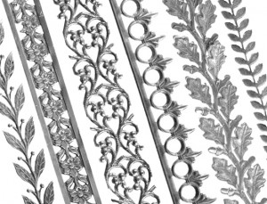 15 New Sterling Silver Patterned Wire & Strip Designs – Cool Tools ...