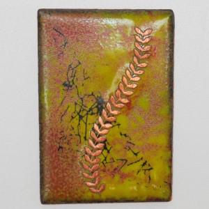 Enameled Piece by Scott Boyd - 2