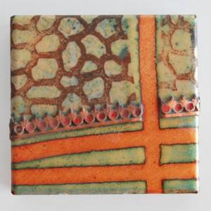 Enameled Piece by Jan Harrell -1