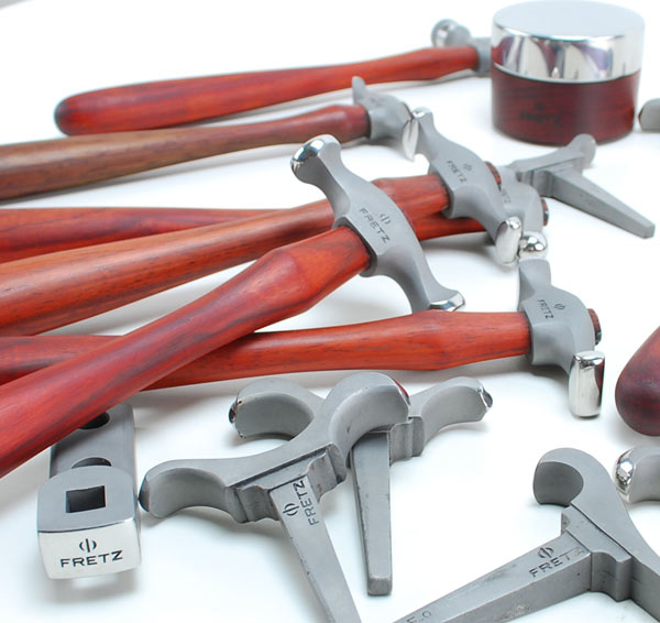 Fretz Hammers, Stakes, and Anvils