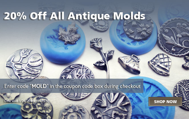 20% Off Cool Tools Antique Molds