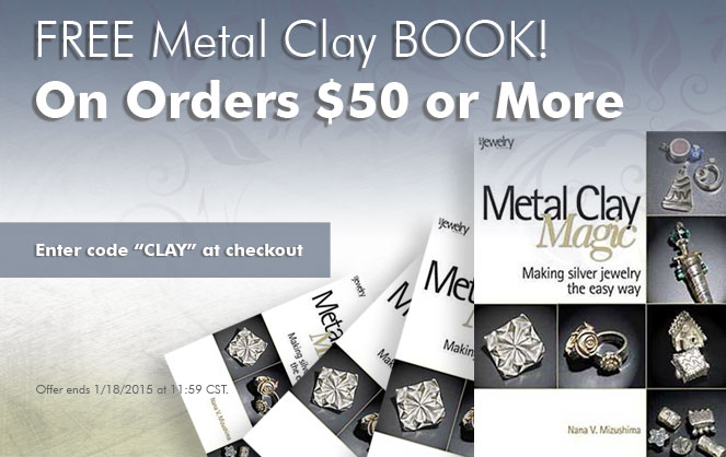 FREE Metal Clay Book! Making Silver Jewelry the Easy Way