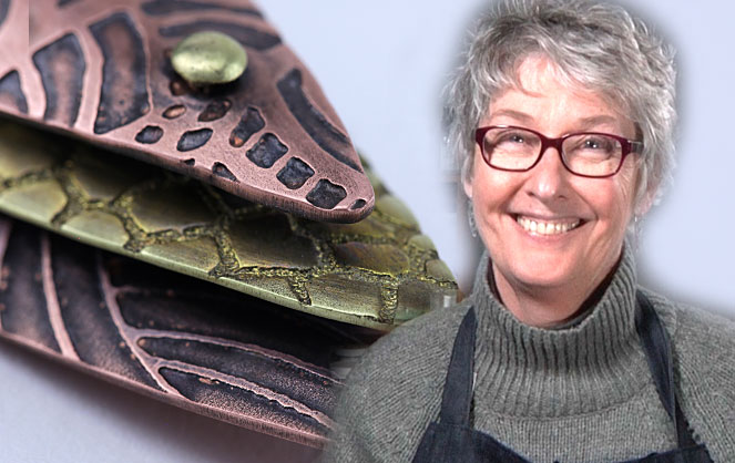 Local Metalsmith, Artist and Instructor, Terri McCarthy