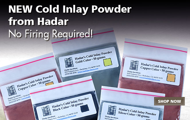 Cold Inlay Powder by Hadar Jacobson