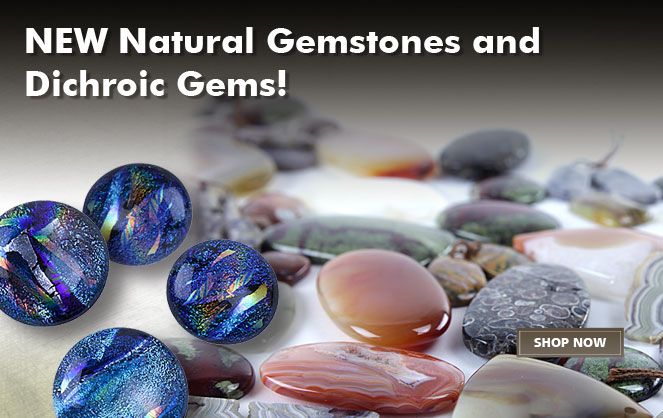 New Natural Gemstones Dichroic Gems