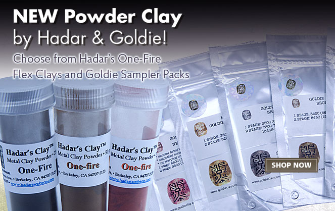 New Powder Clays from Hadar & Goldie
