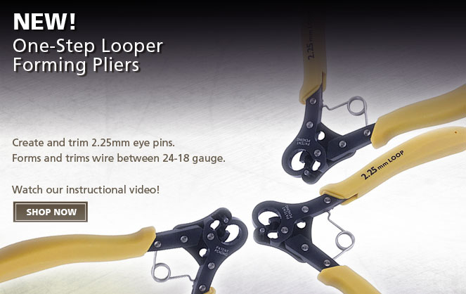 One Step Looper Forming Pliers