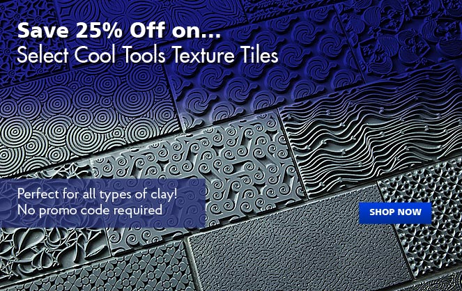 25% Off Select Cool Tools Texture Tiles