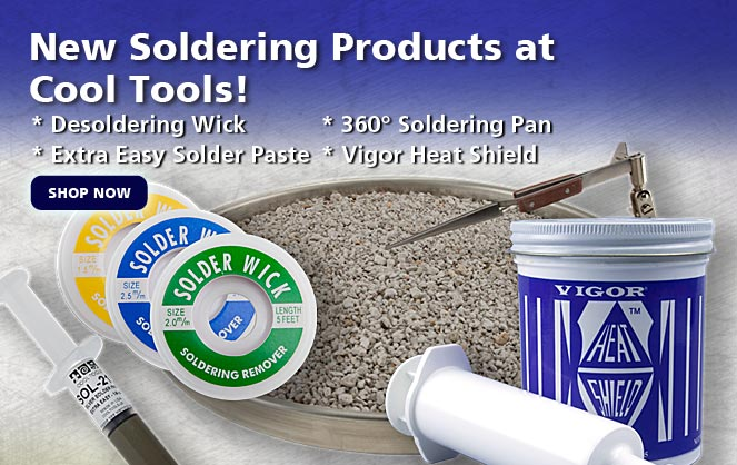 New Soldering Products at Cool Tools