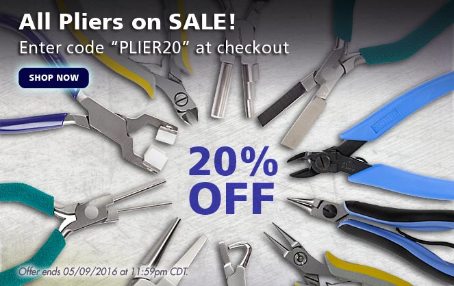 20% Off All Pliers